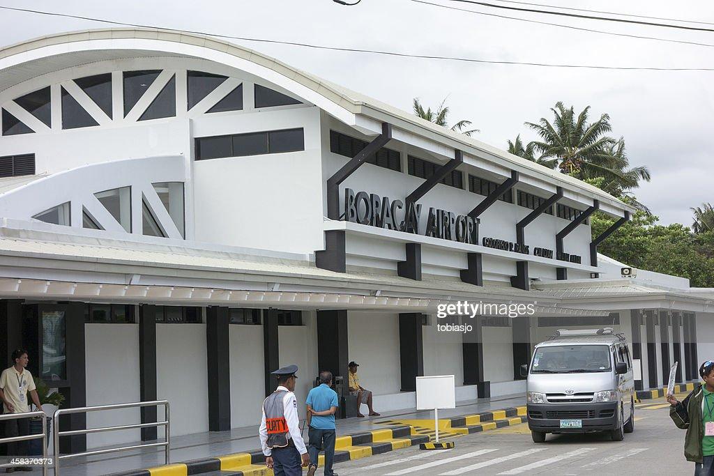 Boracay airport : Stock Photo