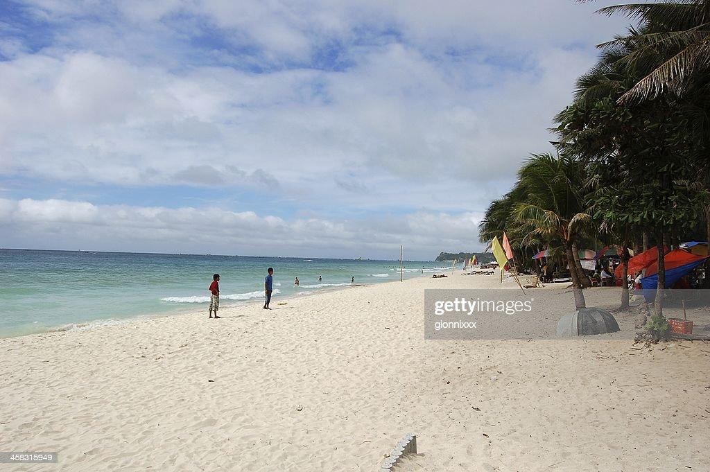 Boracay island, Philippines : Stock Photo
