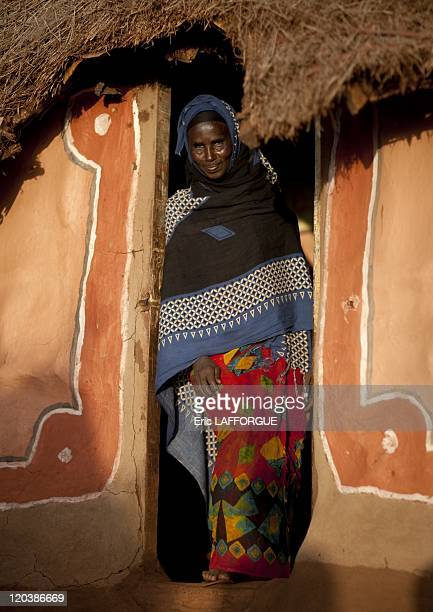 Borana woman in Kenya on July 13 2009 The Borana live in the barren north of Kenya at the boundary with Ethiopia Their animals are the main source of...