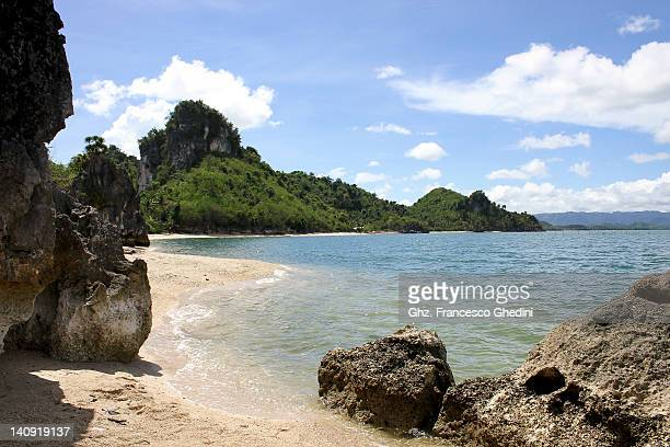 borawan beach - cidade de quezon - fotografias e filmes do acervo