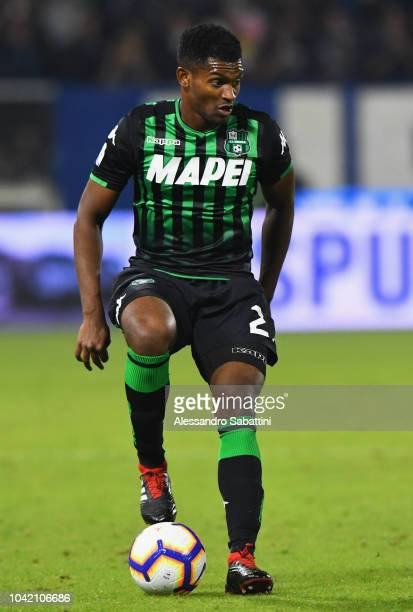 Borbosa Marlon of Sassuolo in action during the serie A match between SPAL and US Sassuolo at Stadio Paolo Mazza on September 27 2018 in Ferrara Italy