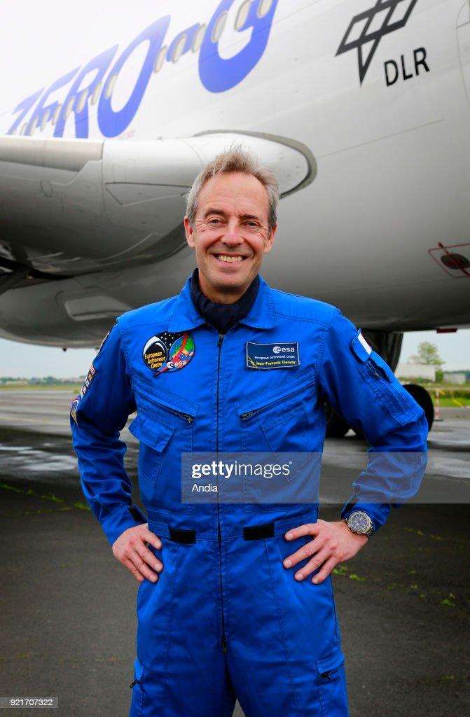 Bordeaux (south-western France). . Astronaut Jean-Francois Clervoy, Chairman and strategy manager of Novespace since 2006, a subsidiary of French space agency CNES in charge of the parabolic flight programme.