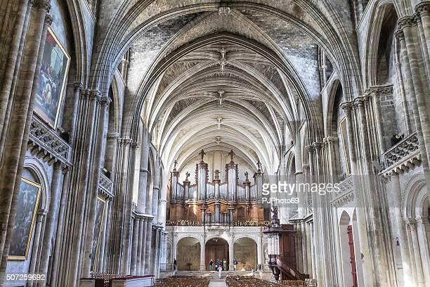 bordeaux-cathédrale saint-andré - pjphoto69 fotografías e imágenes de stock