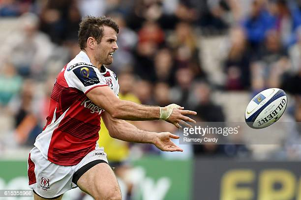 Bordeaux France 16 October 2016 Jared Payne of Ulster during the European Rugby Champions Cup Pool 5 Round 1 match between BordeauxBegles and Ulster...