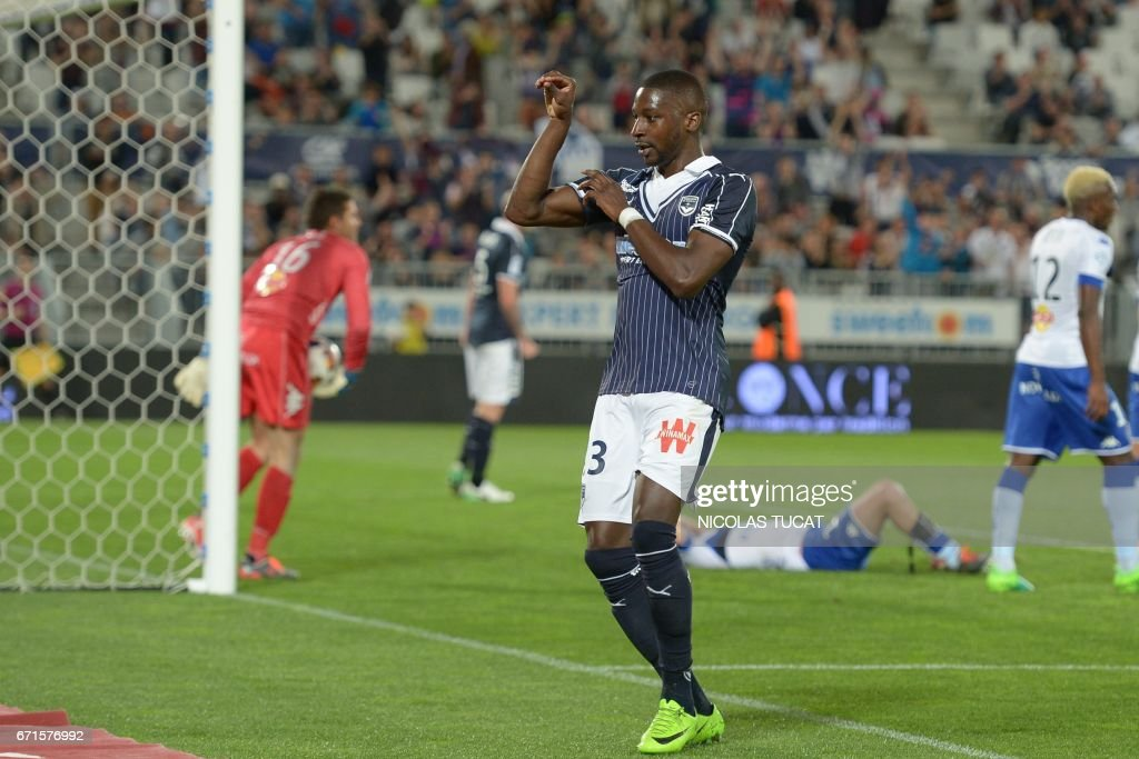 FBL-FRA-LIGUE1-BORDEAUX-BASTIA : News Photo
