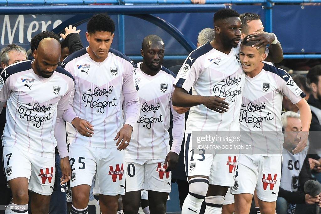 FRA: SM Caen v Girondins Bordeaux - Ligue 1