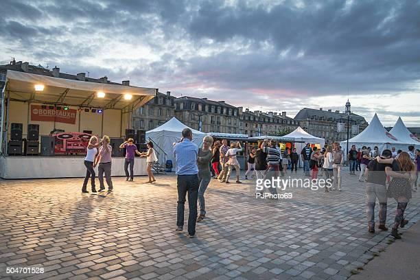 bordeaux estate dance festival - pjphoto69 foto e immagini stock