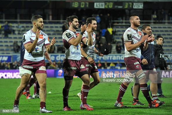 asm clermont auvergne v bordeaux begles european rugby champions cup photos and images getty. Black Bedroom Furniture Sets. Home Design Ideas