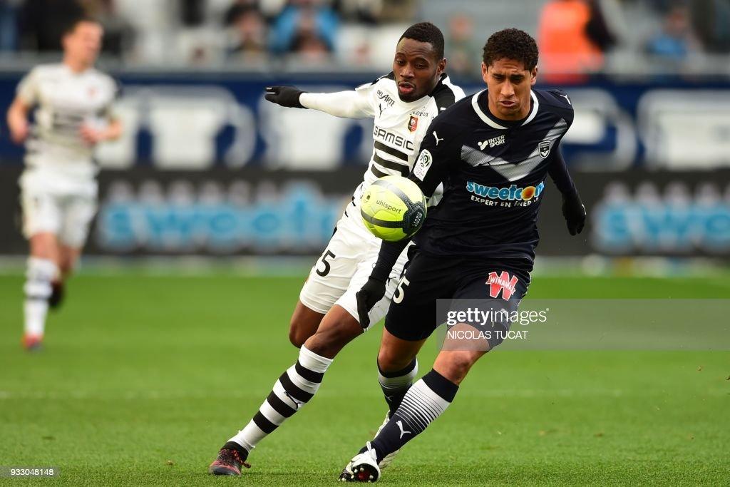 FC Girondins de Bordeaux v Stade Rennais - Ligue 1