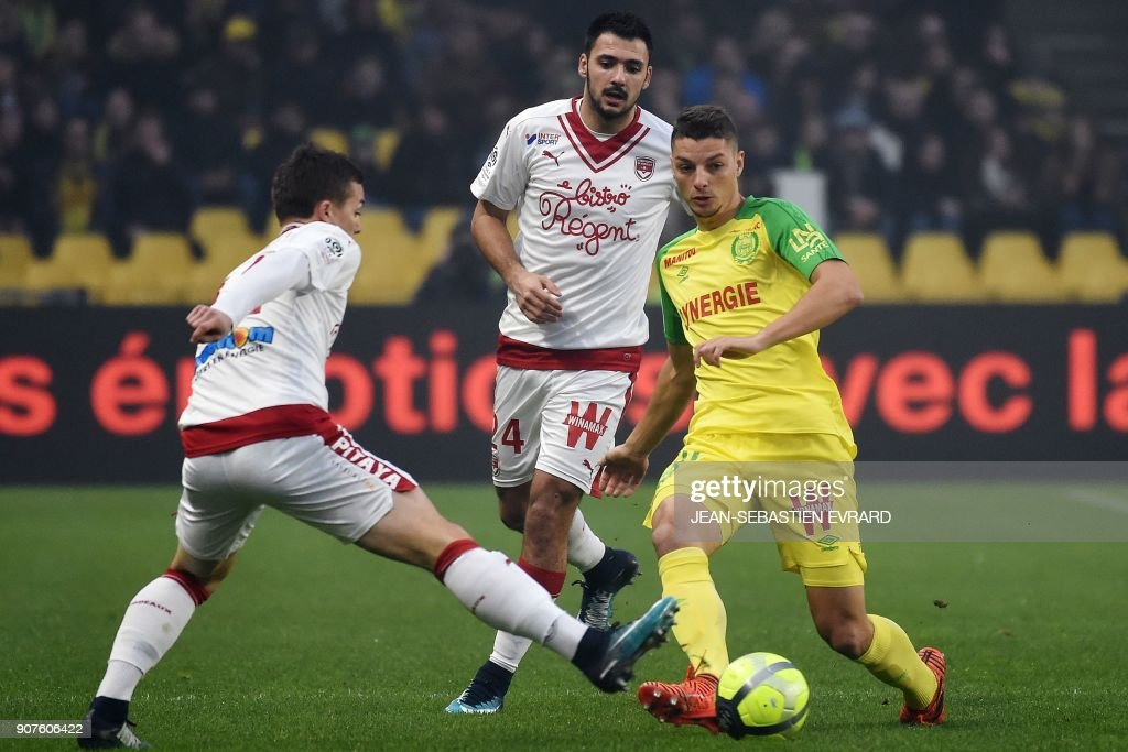 Nantes v FC Girondins de Bordeaux - Ligue 1