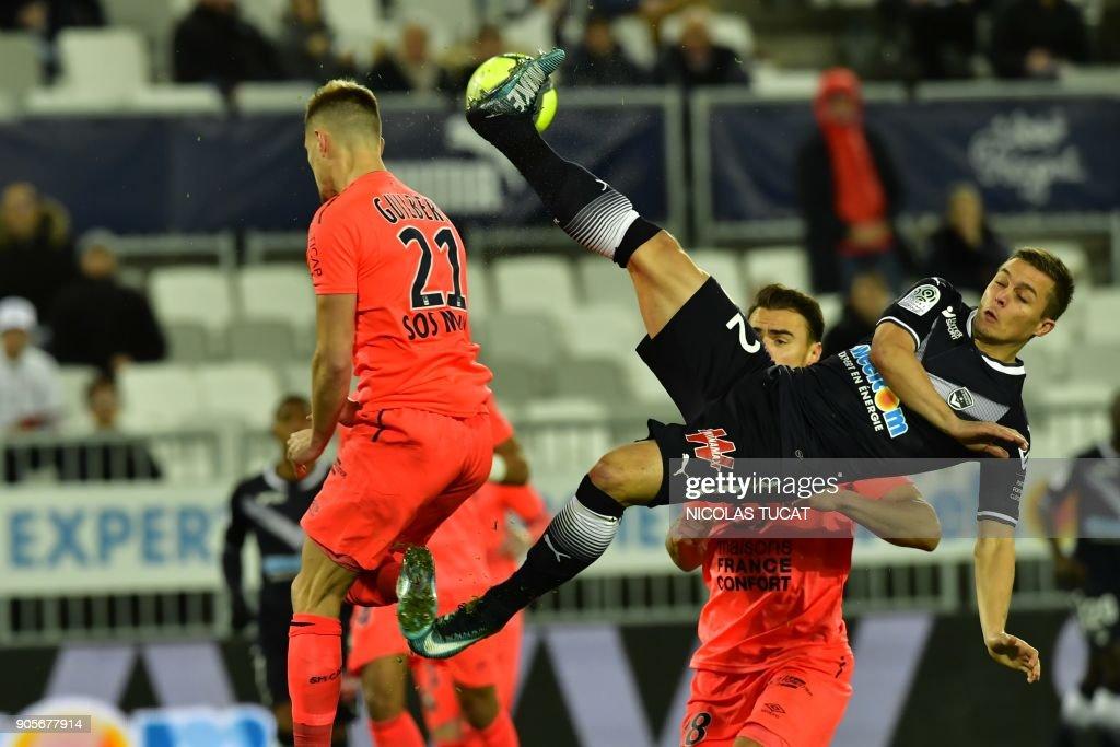FC Girondins de Bordeaux v SM Caen - Ligue 1