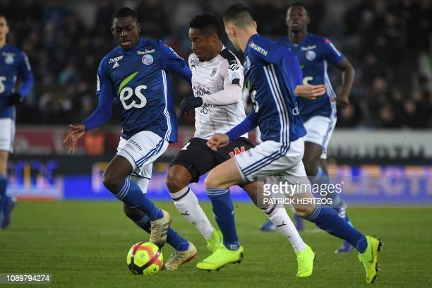 Bordeaux V Strasbourg French Ligue 1 Stock Pictures, Royalty-free ...