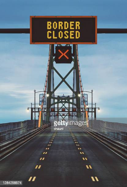 border closed - the end stock pictures, royalty-free photos & images