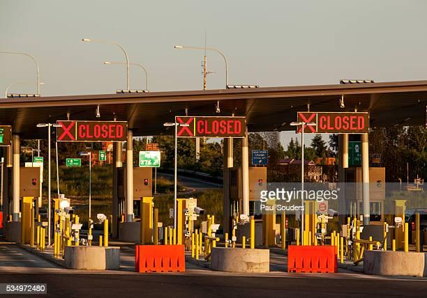 usa border crossing, blaine, washington - dessa blaine bildbanksfoton och bilder