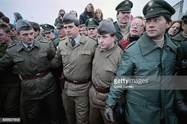Border Guards at Potsdammer Platz