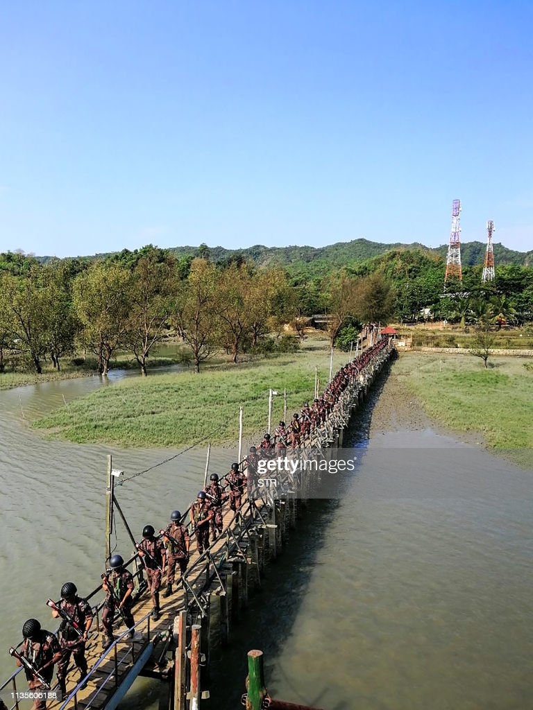 BANGLADESH-MYANMAR-UNREST-DIPLOMACY : News Photo
