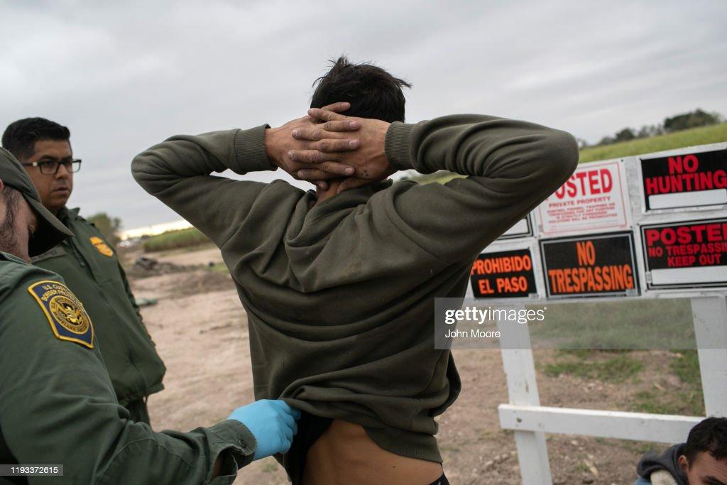 US Border Agents Patrol Rio Grande Valley As Migrant Crossings Drop : News Photo