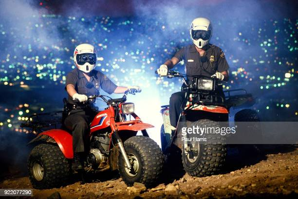 Border Patrol agents ride all terrain vehicles to patrol the border between California and Tijuana Mexico The United States Border Patrol is an...