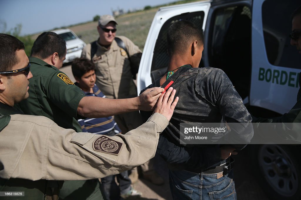 U.S. Customs And Border Protection Secures Tex-Mex Border From Land, Air and Sea : News Photo
