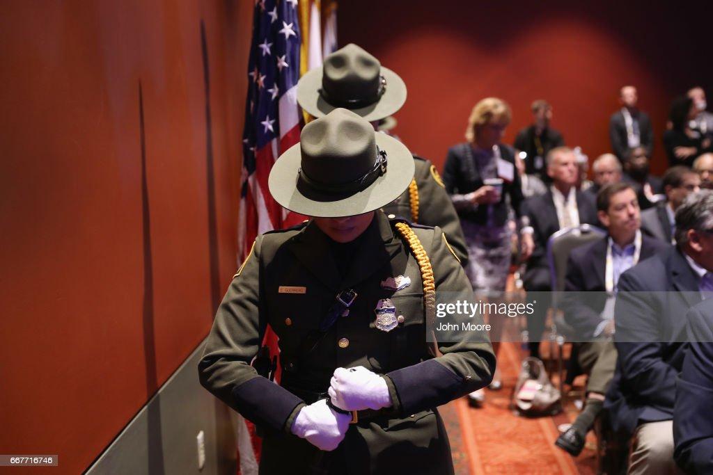 Border Security Expo Held In San Antonio : News Photo