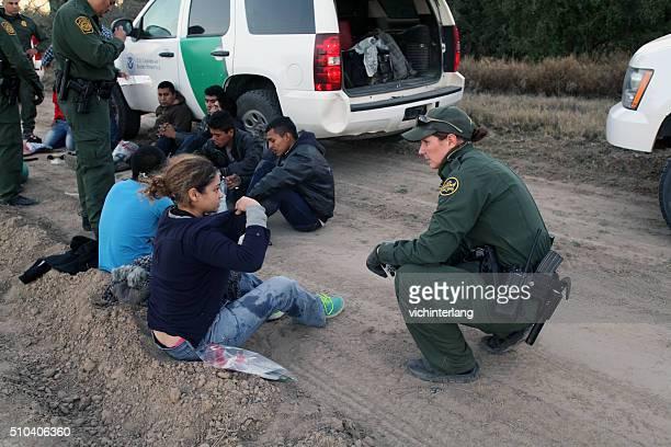 border patrol, rio grande valley, texas, feb. 9, 2016 - central america stock pictures, royalty-free photos & images