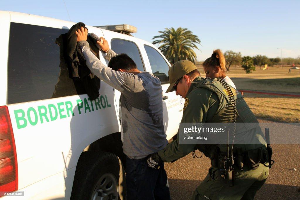 Border Patrol, Rio Grande Valley, Texas, Feb. 9, 2016 : Stock Photo