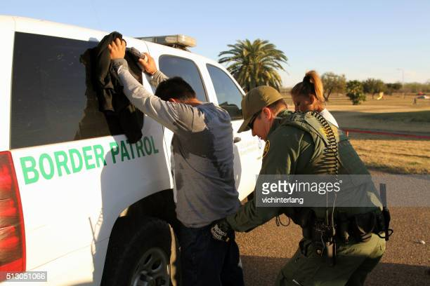 border patrol, rio grande valley, texas, feb. 9, 2016 - geographical border stock pictures, royalty-free photos & images