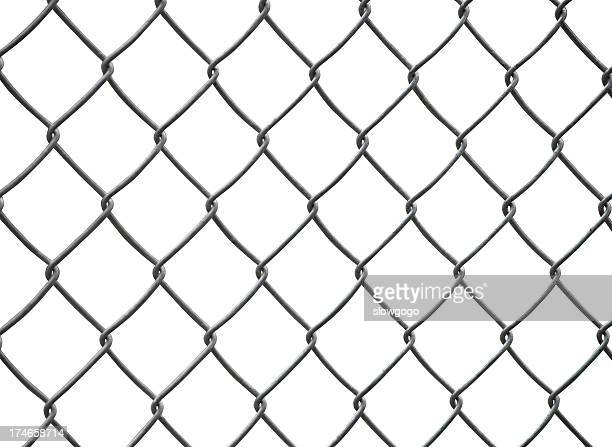border - chainlink fence stock pictures, royalty-free photos & images