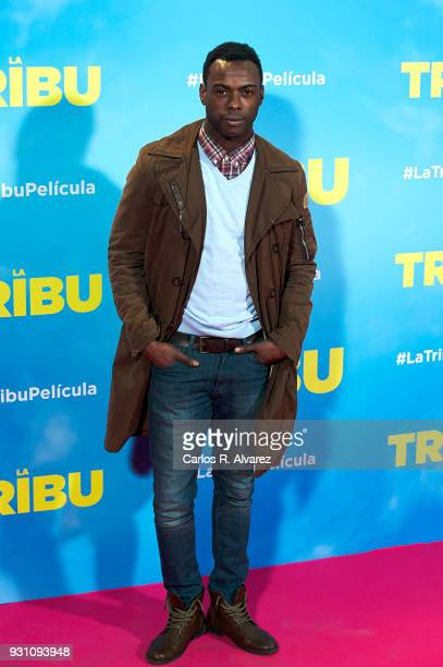 Bore Buika attends 'La Tribu' premiere at the Capitol cinema on March 12 2018 in Madrid Spain