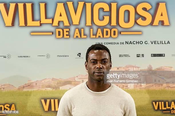 Bore Buika attends 'Villaviciosa de al Lado' photocall at Palacio de los Duques Hotel on November 29 2016 in Madrid Spain