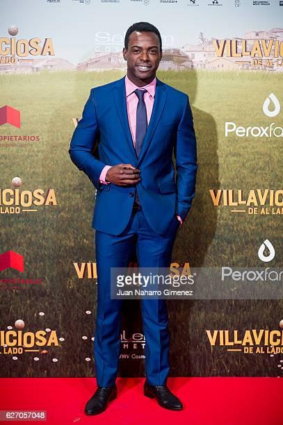 Bore Buika attends 'Villaviciosa De Al Lado' premiere at Capitol Cinema on December 1 2016 in Madrid Spain