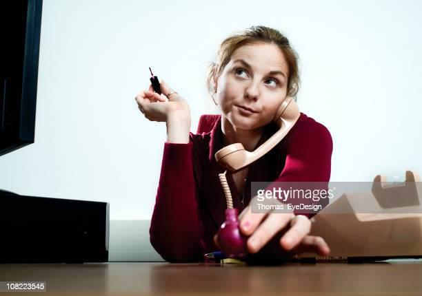 Bored Businesswoman Series