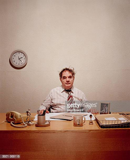 bored office worker - boredom stock pictures, royalty-free photos & images