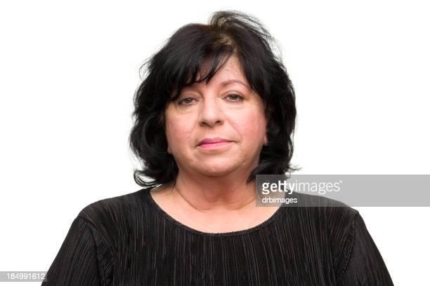 marre femme photo d'identité judiciaire - big fat white women photos et images de collection