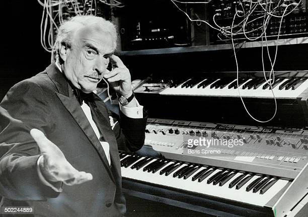 Borge's back Danishborn pianist Victor Borge who specializes in making fun of the classics tried his hand at playing a computerized synthesizer when...