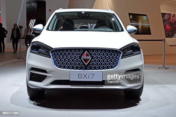 borgward bxi7 on the motor show - build grill stock photos and pictures