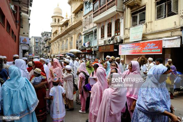 Bori muslim festival in the street of Mumbai on March 15 2012 in Mumbai India