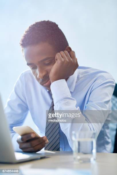 boring man at meeting - wasting time stock pictures, royalty-free photos & images