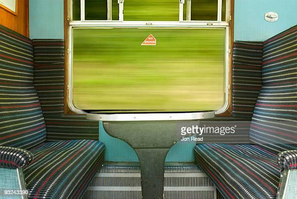 Boring train photograph