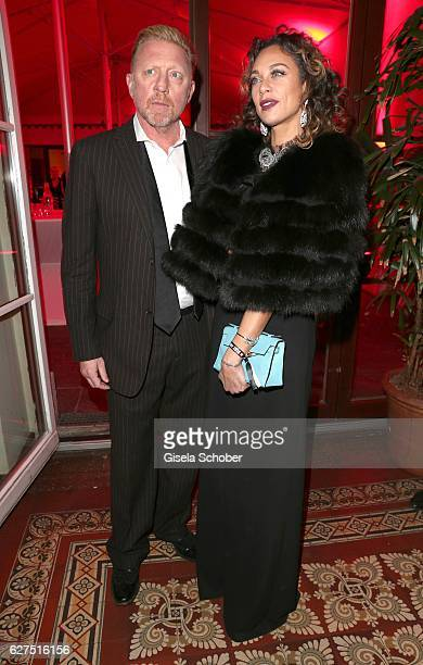 Boris Becker and his wife Lilly Becker during the Ein Herz Fuer Kinder after show party at Borchardt Restaurant on December 3 2016 in Berlin Germany