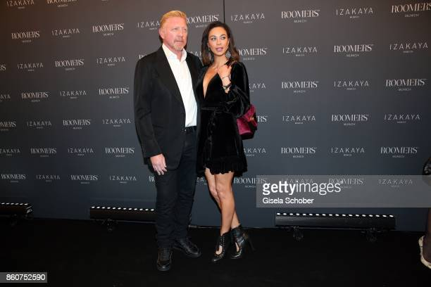Boris Becker and his wife Lilly Becker during the grand opening of Roomers IZAKAYA on October 12 2017 in Munich Germany