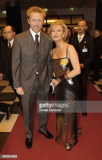 Boris Becker and TV presenter Sabine Christiansen