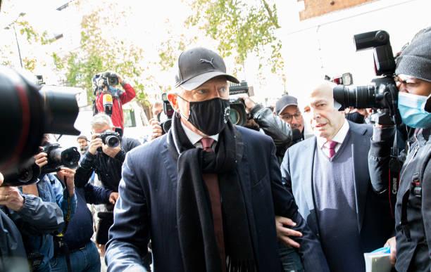 GBR: Boris Becker's Insolvency Hearing