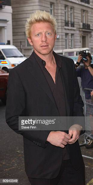 Boris Becker attends Glamour Magazine's Women Of The Year Awards celebrating achievements of women at Berkeley Square Gardens on June 8 2004 in...