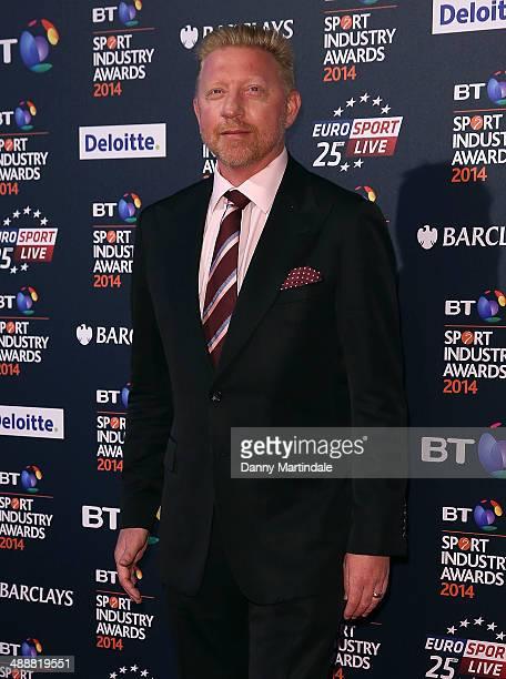 Boris Becker attends the BT Sport Industry Awards at Battersea Evolution on May 8 2014 in London England