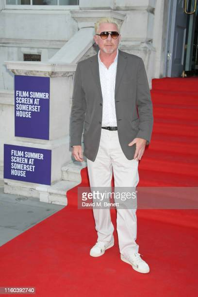 Boris Becker attends the opening night of Film4 Summer Screen at Somerset House featuring the UK Premiere of Pain And Glory on August 8 2019 in...