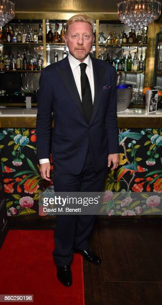 Boris Becker attends the The BARDOU Foundation's International Day Of The Girl Gala in support of The Princes Trust at Albert's Club on October 11,...