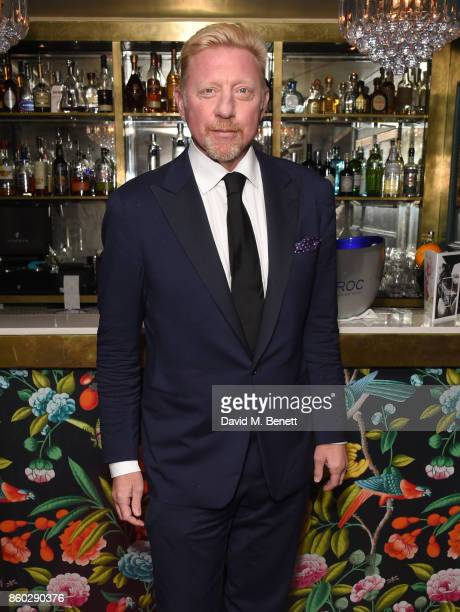 Boris Becker attends the The BARDOU Foundation's International Day Of The Girl Gala in support of The Princes Trust at Albert's Club on October 11...