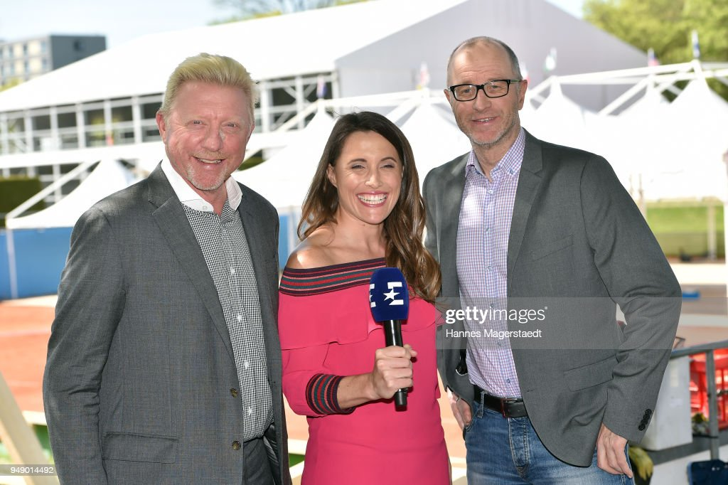 Eurosport Press Conference With Boris Becker In Munich