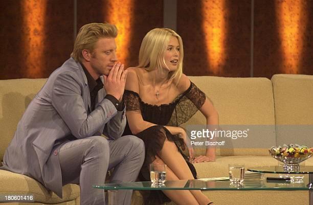 Boris Becker Claudia Schiffer ZDF 'Wetten Dass' Braunschweig